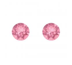 Boucles d'oreilles argent 925/1000 et éléments de cristaux Indicolite PU-RON-223