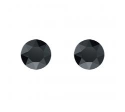 Boucles d'oreilles argent 925/1000 et éléments de cristaux Indicolite PU-RON-280