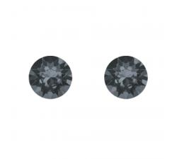 Boucles d'oreilles argent 925/1000 et éléments de cristaux Indicolite PU-RON-SINI
