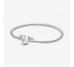 Bracelet jonc coeur ailé édition limitée fêtes des mères 2021 argent 925/1000e PANDORA 599379C00
