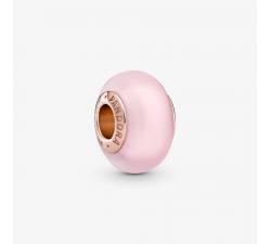 Charm Verre de Murano Rose Mat Pandora rose 789421C00