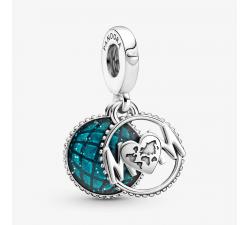 Charm Pendant Globe Étincelant Mum (Maman) en Argent 925/1000 Pandora 799368C01