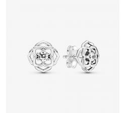 Boucles d'Oreilles Pétales de Rose argent 925/1000 Pandora 299371C01