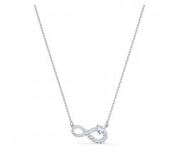 Collier Swarovski Infinity blanc, métal rhodié SWAROVSKI 5520576