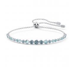 Bracelet Emily Gradient bleu, métal rhodié Swarovski 5562130