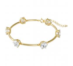 Bracelet Constella White, Gold-tone plated Swarovski 5600487