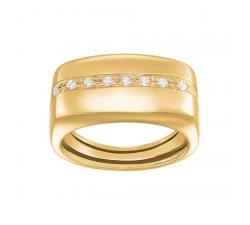 Bague femme argent 925/1000 doré Charles Garnier Paris 1901 Formes AGF160022R