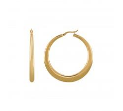 Boucles d'oreilles femme argent 925/1000 doré Charles Garnier Paris 1901 Formes AGF170055E