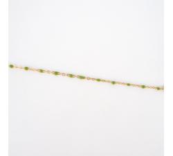Bracelet Houston vert en acier - Anartxy APU780 VER