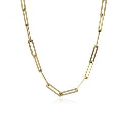 Collier chain en acier - Anartxy BCO077 D