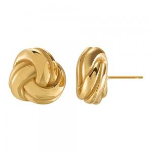 Boucles d'oreilles femme argent 925/1000 plaqué or Charles Garnier Paris 1901 Formes AGF160004E