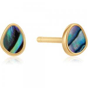 Boucles d'oreilles femme argent 925/1000 doré Ania Haie Turning Ties E027-04G