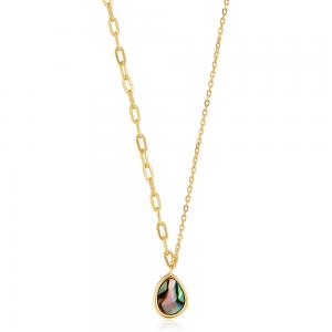Collier femme argent 925/1000 doré Ania Haie Turning Ties N027-02G