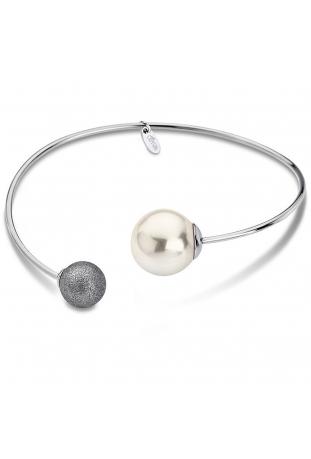 Bracelet rigide acier Lotus Style