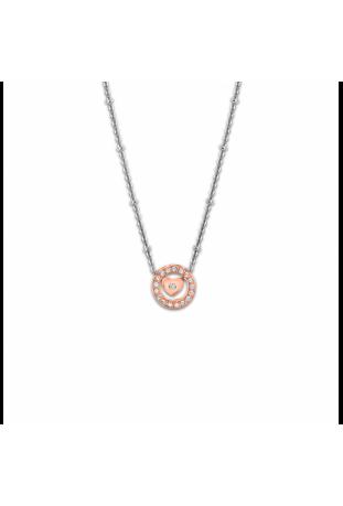 Collier femme acier et cristaux Lotus Style