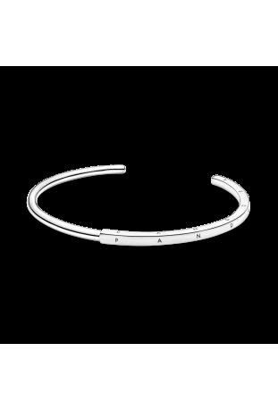 Bracelet Pandora rigide Signature en argent 925/1000 599493C00-1