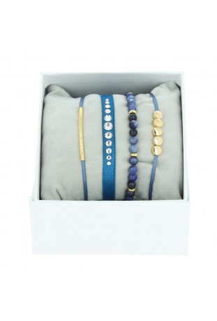 Strass Box Glam Les interchangeables Bleu Jean A85143
