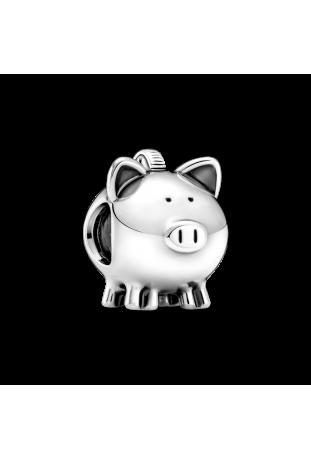 Charm Pandora tirelire mignon en argent 925/1000 799549C00
