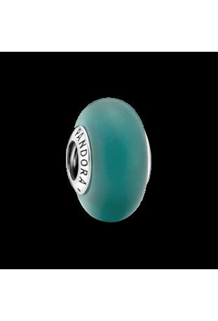 Charm Pandora verre Murano vert mat en argent 925/1000 799555C00