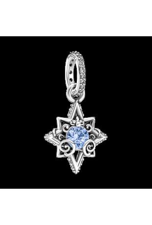 Charm Pandora Disney x Pandora Pendentif étoile bleue Cendrillon en Argent 925/1000 399560C01