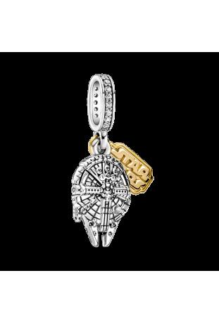 Charm Pandora pendentif Star Wars x Pandora Millennium Falcon en Argent 925/1000 769504C01