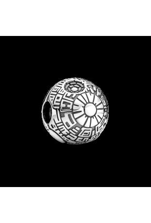 Charm Clip Pandora Star Wars x Pandora Étoile de la Mort en Argent 925/1000 799513C00