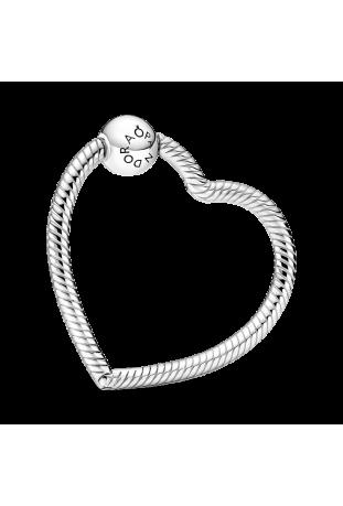 Porte-Charms Cœur Pandora Moments en Argent 925/1000 399505C00