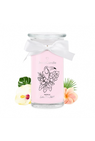 Bougie Tropical like it's hot (Collier) Jewel Candle 301317FR-C