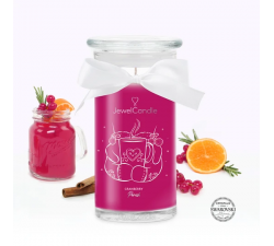 Bougie Cranberry punch (Collier) Jewel Candle 301513FR-C