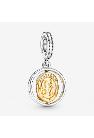 Charm Pandora Harry Potter dangle Hedwige et Quai 9 3/4 760035C00