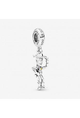 Charm Pandora Pendant Disney Pixar Toy Story Woody en argent 925/1000 798041ENMX