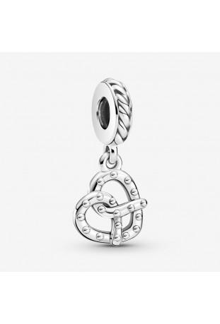 Charm Pandora Pendant Bretzel en argent 925/1000 799393C00