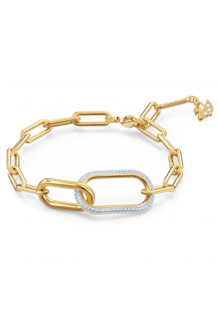 Bracelet Swarovski Time Blanc, Finition mix de métal 5566003