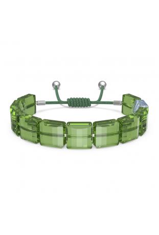 Bracelet Swarovski Letra Paix, Vert, Métal rhodié 5615003