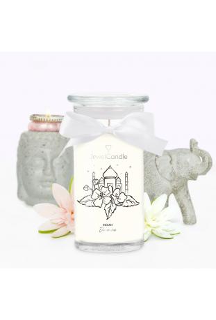 Bougie Indian Jasmine, (Boucles d'oreilles), Jewel Candle 201490FR-B