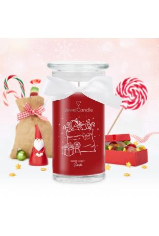 Bougie Sweet Secret Santa, (Boucles d'oreilles), Jewel Candle 201660EU-B