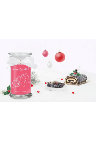 Bougie Delicious Christmas, (Boucles d'oreilles), Jewel Candle 211274FR-B
