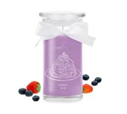 Bougie Blueberry pancakes (Boucles d'oreilles) Jewel Candle 211539FR-B
